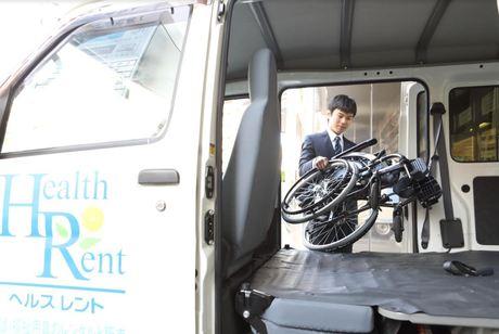 車いすや歩行器、電動ベッドなどをお届け・回収する際に補助していただくお仕事です
